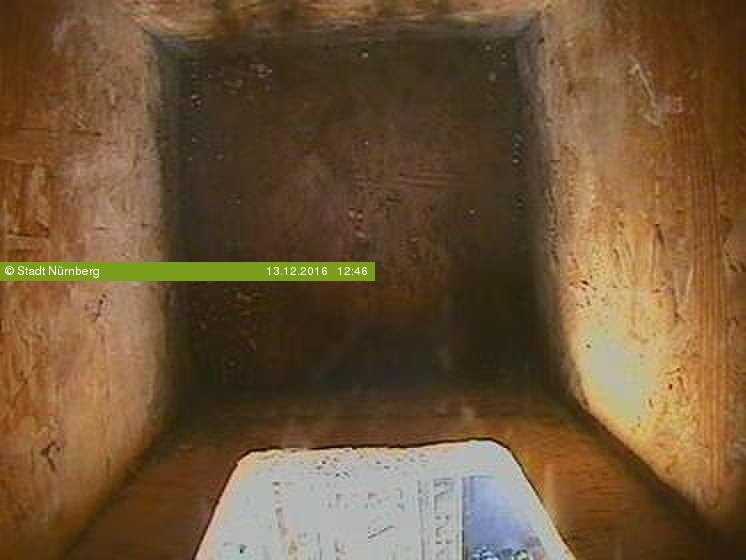 Aktuelles Bild der Webcam Falkenhorst - Innenraum